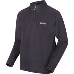 Clothing Men Fleeces Regatta Thompson Half Zip Fleece Oxford Blue Grey Grey