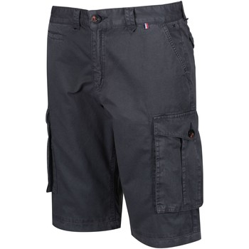 Clothing Men Shorts / Bermudas Regatta Shorebay Vintage Look Cargo Shorts Grey Grey