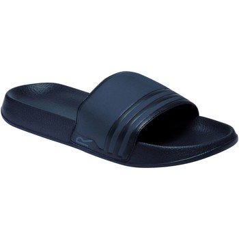 Shoes Men Sliders Regatta SHIFT Sandals Navy Dark Denim  Blue Blue