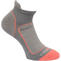 Clothes accessories Women Socks Regatta Women's Trail Runner Trainer Socks Grey