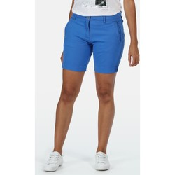 Clothing Women Shorts / Bermudas Regatta SOLITA II Cotton Shorts Blue