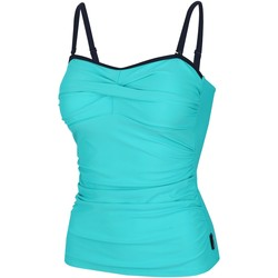 Clothing Women Swimsuits Regatta Aceana II Tankini Top Blue Blue