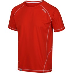 Clothing Men T-shirts & Polo shirts Regatta VIRDA II TShirt Red