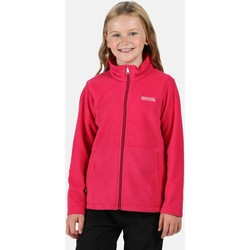 Clothing Children Fleeces Regatta KING II Full-Zip Fleece Rumba Red Pink Pink