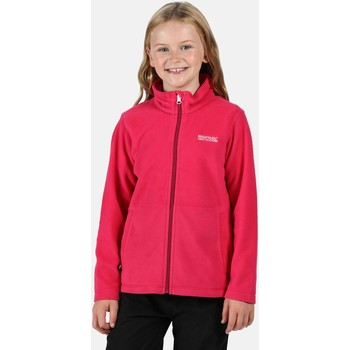 Clothing Children Fleeces Regatta King II Lightweight Full Zip Fleece Pink Pink