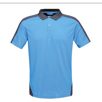 Clothing T-shirts & Polo shirts Professional CONTRAST Coolweave TShirt Blue