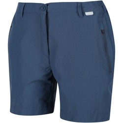 Clothing Women Shorts / Bermudas Regatta Highton Mid Walking Shorts Blue Blue