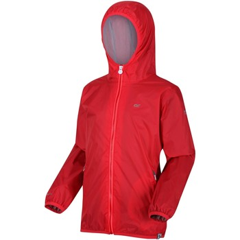 Clothing Children Macs Regatta LEVER II Waterproof Shell Jacket Pink