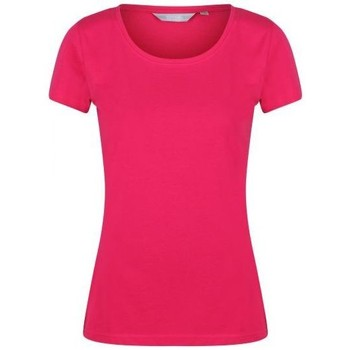 Clothing Women T-shirts & Polo shirts Regatta Carlie Coolweave T-Shirt Pink Pink