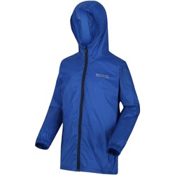 Clothing Children Coats Regatta Pack It Lightweight Waterproof Hooded Walking Jacket Blue Blue
