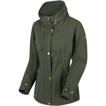 Clothing Women Parkas Regatta NARELLE Waterproof Shell Jacket Green