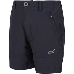 Clothing Children Shorts / Bermudas Regatta JUNIOR HIGHTON Stretch Shorts Seal Grey Grey Grey