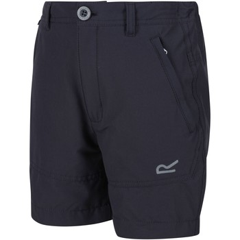 Clothing Children Shorts / Bermudas Regatta JUNIOR HIGHTON Stretch Shorts Grey
