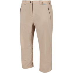 Clothing Women Trousers Regatta Chaska II Capri Walking Trousers Brown Brown