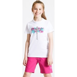 Clothing Children T-shirts & Polo shirts Dare 2b GO BEYOND Graphic T-Shirt White