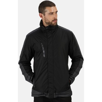 Clothing Men Jackets Professional CONTRAST Waterproof Insulated Jacket Black