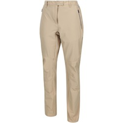 Clothing Women Trousers Regatta Highton Stretch Walking Trousers Brown Brown