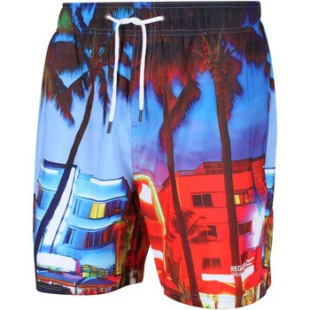 Clothing Men Trunks / Swim shorts Regatta MAWSON II Swim Shorts Multicolored