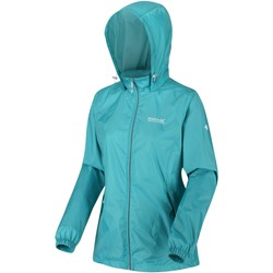Clothing Women coats Regatta Corinne IV Lightweight Waterproof Packaway Walking Jacket Blue Blue