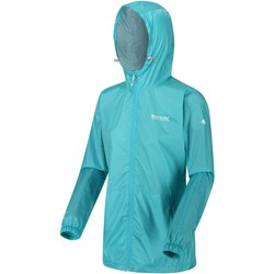 Clothing Women Coats Regatta PACK-IT III Waterproof Shell Jacket Blue