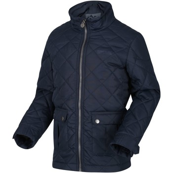 Clothing Children Coats Regatta Zion Quilted Insulated Jacket Blue Blue
