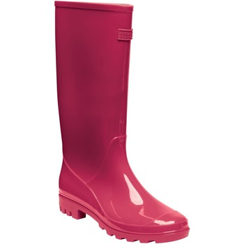 Shoes Women Wellington boots Regatta LADY WENLOCK Wellingtons Dark Denim Pink Pink