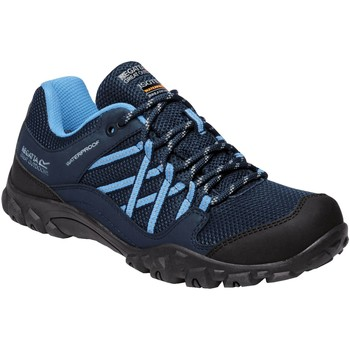 Shoes Women Multisport shoes Regatta Edgepoint III Low Waterproof Walking Shoes Blue Blue