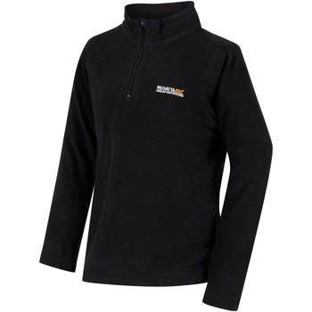 Clothing Children Fleeces Regatta HOT SHOT II Half-Zip Fleece Vanilla  Black Black