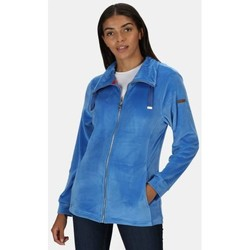 Clothing Women Fleeces Regatta Odelia Full Zip Heavyweight Fleece Blue Blue
