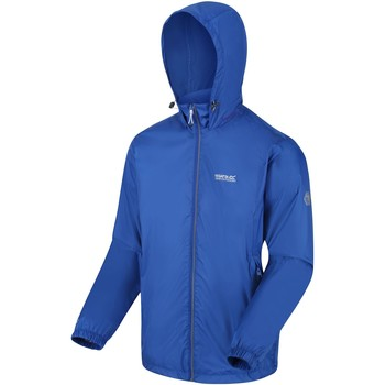 Clothing Men Coats Regatta Lyle IV Lightweight Waterproof Jacket Blue Blue