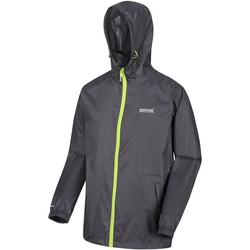 Clothing Men Coats Regatta Pack-It III Lightweight Waterproof Walking Jacket Grey Grey