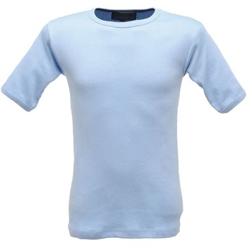 Clothing Men Tops / Sleeveless T-shirts Professional THERMAL Shortsleeve Vest Base Layer Blue