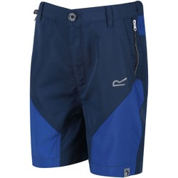 Clothing Boy Shorts / Bermudas Regatta SORCER MOUNTAIN Lightweight Shorts Blue
