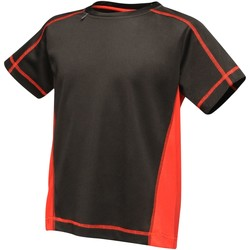 Clothing Children T-shirts & Polo shirts Professional BEIJING Lightweight TShirt Black