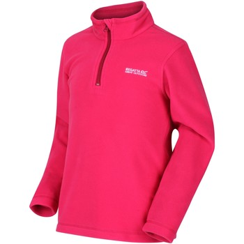 Clothing Children Fleeces Regatta Hot Shot II Lightweight Half Zip Fleece Pink Pink
