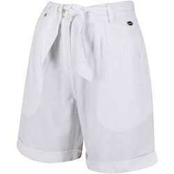 Clothing Women Shorts / Bermudas Regatta SAMIRA Coolweave Shorts White