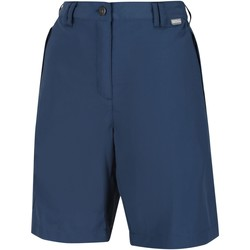 Clothing Women Shorts / Bermudas Regatta CHASKA II Quick-Dry Shorts Blue