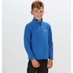 Clothing Children Fleeces Regatta HOT SHOT II Half-Zip Fleece Vanilla  Blue Blue