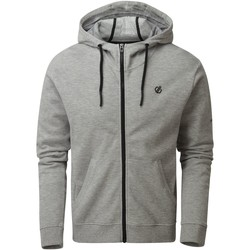 Clothing Men Sweaters Dare 2b MODULUS Full Zip Hoodie Grey