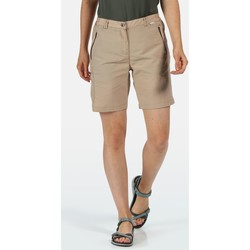 Clothing Women Shorts / Bermudas Regatta CHASKA II Quick-Dry Shorts Brown