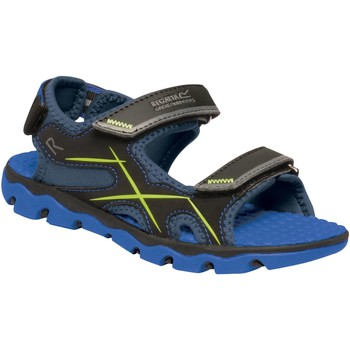 Shoes Children Sandals Regatta KOTA DRIFT JUNIOR Sandals Nautical Blue Electric Lime  Blue Blue