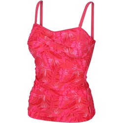 Clothing Women Swimsuits Regatta Aceana II Tankini Top Red Red