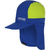 Clothes accessories Children Hats Regatta PROTECT Cap Nautical Blue Electric Lime  Blue Blue