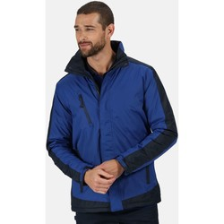 Clothing Men Parkas Professional CONTRAST Waterproof Insulated Jacket Seal Grey Blue Blue