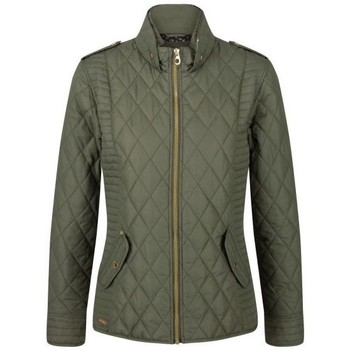 Clothing Women Coats Regatta Carita Lightweight Quilted Jacket Green Green