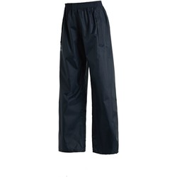 Clothing Children Trousers Regatta STORMBREAK Waterproof Overtrousers Navy            Blue Blue