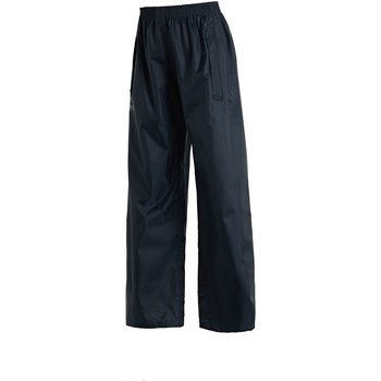 Clothing Children Trousers Regatta Stormbreak Overtrousers Blue Blue
