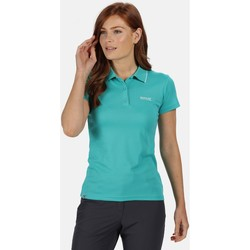 Clothing Women T-shirts & Polo shirts Regatta Maverick V Short Sleeve Polo Shirt Green Green
