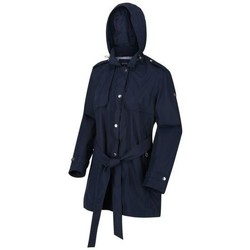 Clothing Women coats Regatta Garbo Long Length Waterproof Jacket Blue Blue
