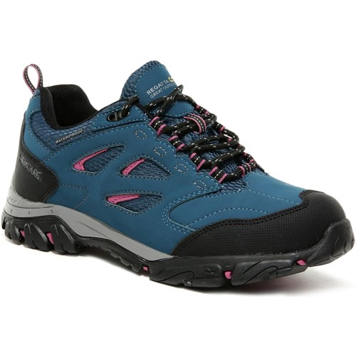 Shoes Women Multisport shoes Regatta LADY HOLCOMBE IEP Low Boots Blue